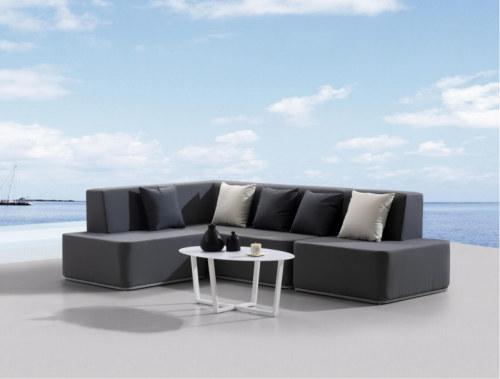 Wholesale fabric outdoor sofa set aluminium sofa set(YF-SF701)