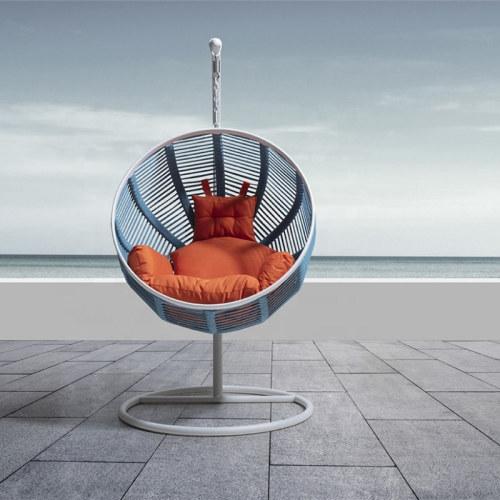 Wholesale rattan outdoor modern woven swing chair(YF-BT406)