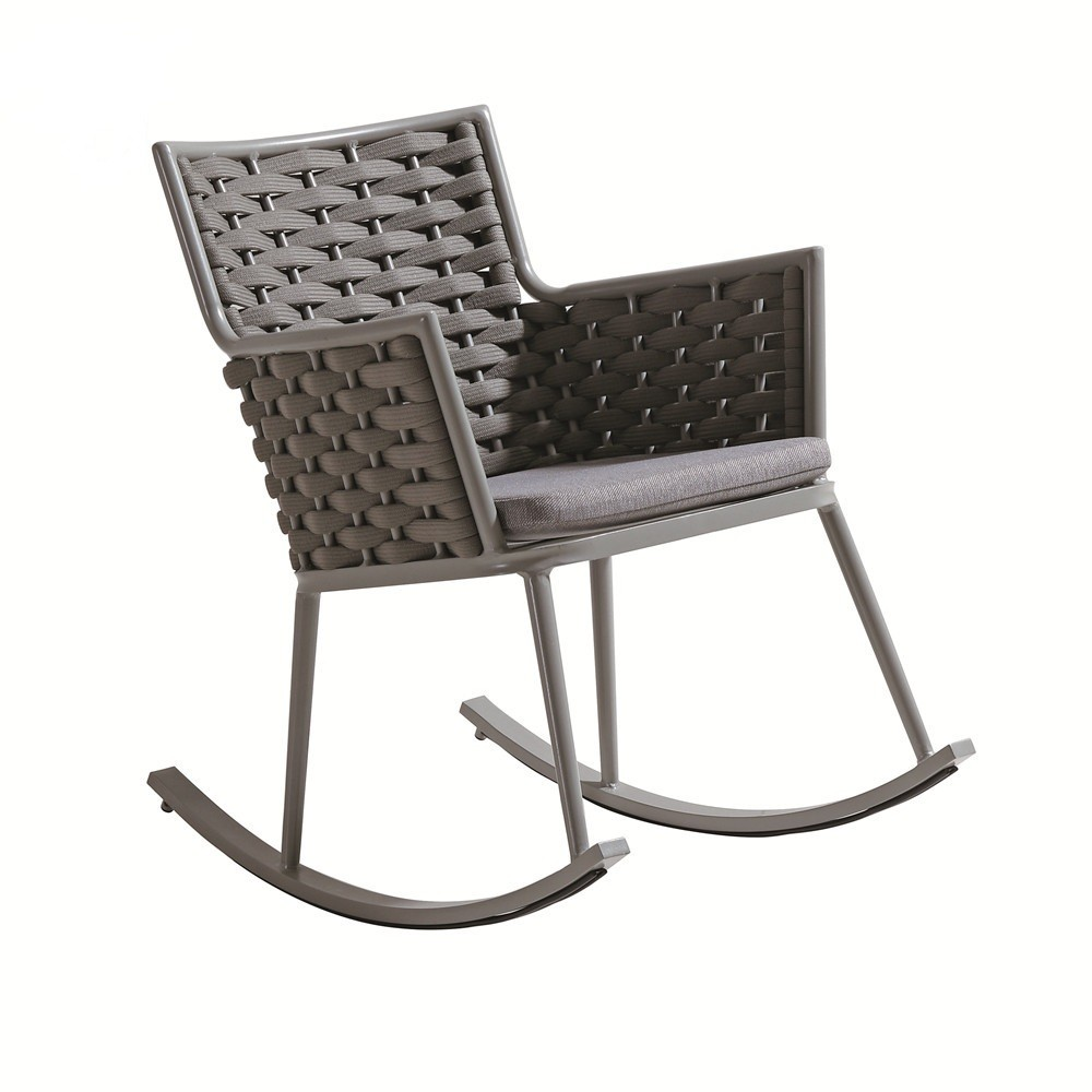 Wholesale rope outdoor swing chair with coffee table(YF-BT403)