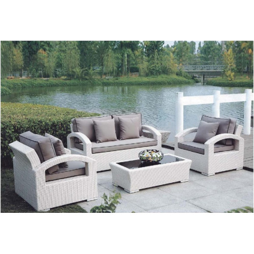 Wholesale modern PE rattan sofa furniture set(YF-SF302#)