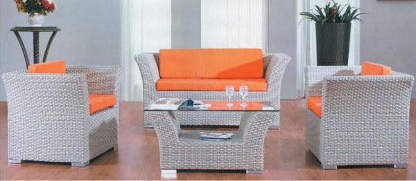 Wholesale Garden Rattan Outdoor Wicker Sofa Sets(YF-SF305#)
