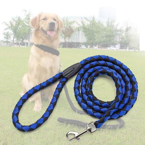 Stainless Steel Dog Leash Snap Hooks Elliptical Single Head For Dog Leash Nylon Cable