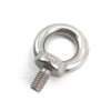 Stainless Steel Eye Bolts 1/4 Thread DIN580 Eye Screw Marked with Size and SS304 Material for Lifting