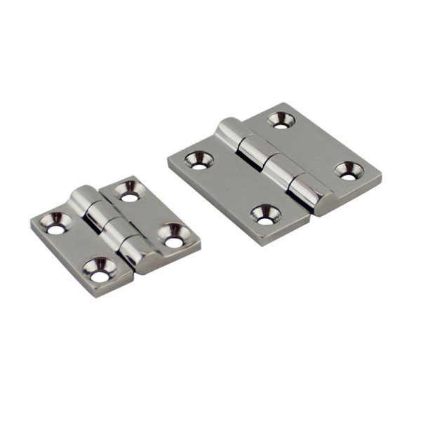 Butt Hinge 1.5 Inch x 1.5 Inch Marine Grade Stainless Steel Heavy Duty Hinge for Boat Yacht,RVS