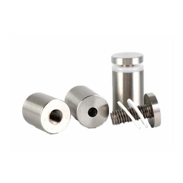 Stainless Steel Sign Holder Screws 12mm Glass Standoff Pin Nails Billboard Fixing Screws