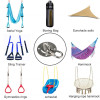 Ceiling Wall Mount Pad Eye Plate 304 Stainless Steel for Yoga Swings Hammocks/Suspension Training Straps