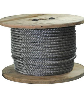 7x7 aircraft cable, Stainless Steel 304 Wire Cable,  7x7 Strand Core  Perfect for Outdoor, Yard, Garden or Crafts