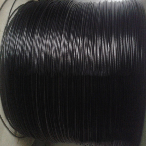 PVC Coated Wire Rope,Black Coated Covered 304 Stainless Steel Wire cable for Cable Railing System