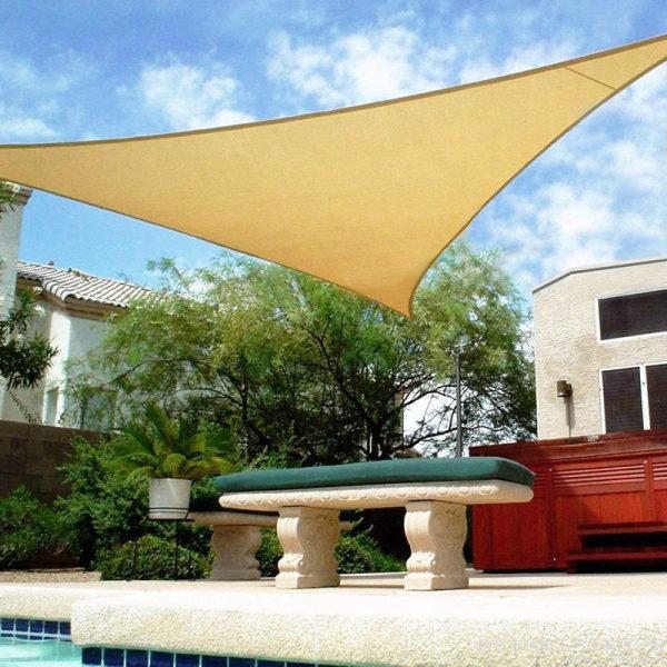 HDPE Triangle Sun Shade Sail shade sail patio for Patio UV Block and Outdoor
