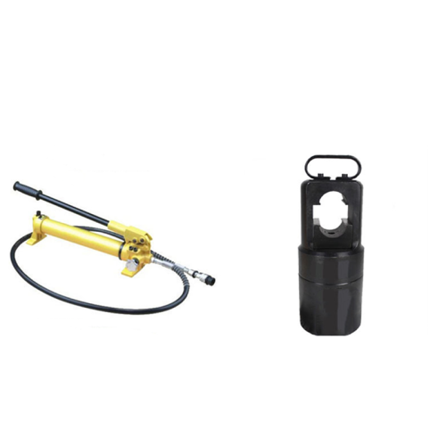 Cable Railing Swage Tool | Hydraulic Crimping Tools 60T for Machine Swage Stud Deck Rail System