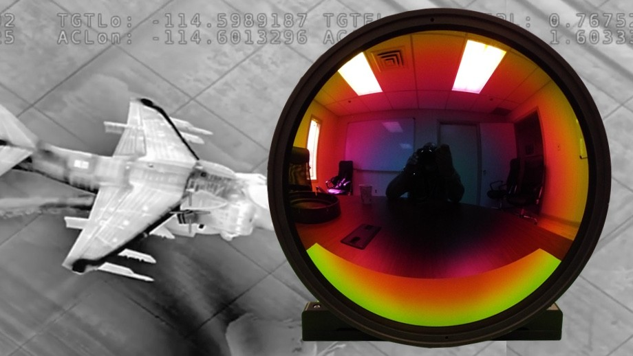 the uses of infrared thermal imaging cameras in the field of security monitoring