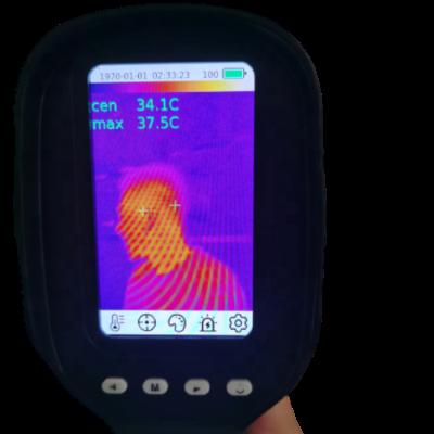 Termómetro de imágenes térmicas infrarrojas de mano para detección de fiebre