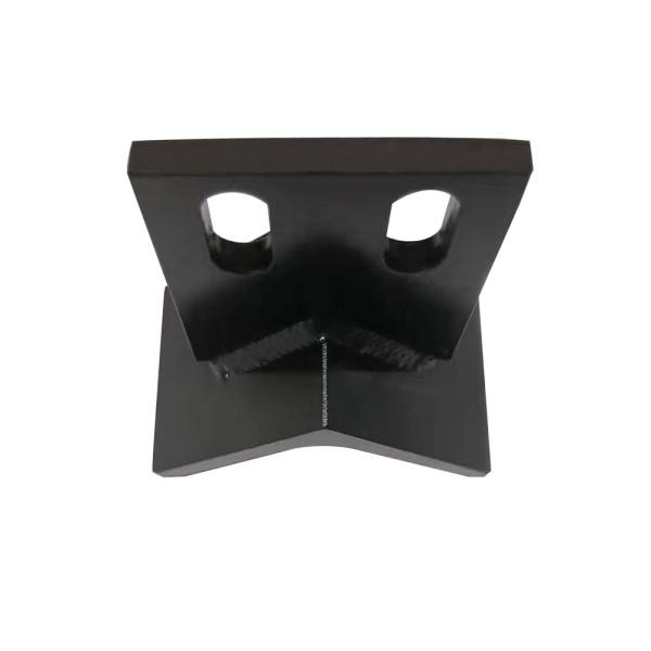 精密黒染め溶接部品、精密黒染め設備部品加工、カスタム溶接部品加工