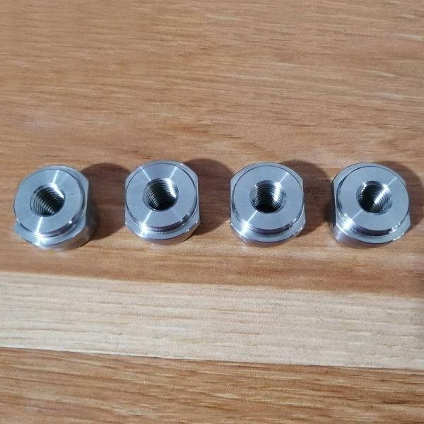 精密ステンレス切削加工、精密旋盤加工部品、カスタムステンレス部品加工