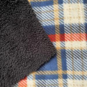 Good quality windproof and waterproof stretch fabric bonded polar fleece fabric for