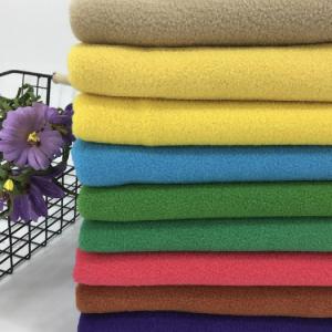 100% Polyester Polar Fleece Anti-pilling Fabric