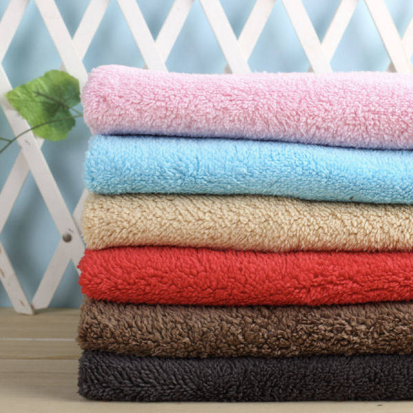 100% Polyester Sheep Sherpa Fabric for winter warm clothing
