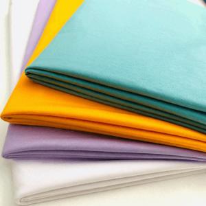 custom design soft spun Jersey fabric for t shirt