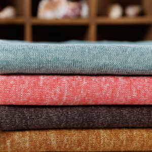 Polyester Hacci Fabric Knit Fabric