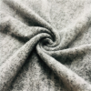 brushed sweater fleece polyester hacci knit fabric for school uniform