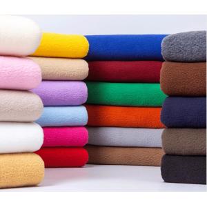 100% Polyester Micro Fleece Fabric