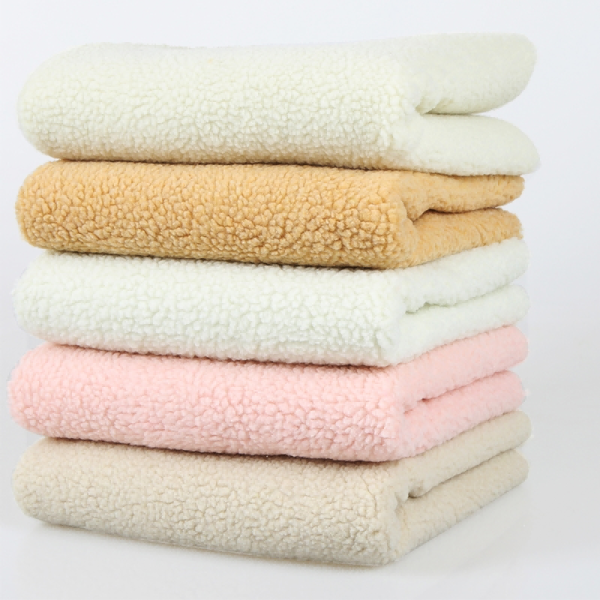 100% Polyester Teddy Sherpa Fabric for winter warm clothing
