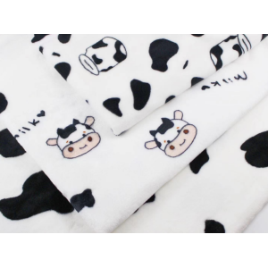 Manufacturer custom sherpa fleece fabric printing for clothing and home textile