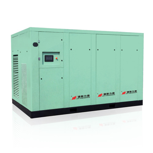 55kw-355kw Industrial Dry Type Screw Air Compressor with Inverter Direct Drive