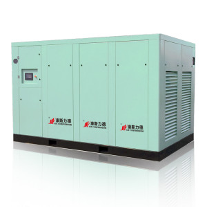 Dry Type Screw Air Compressor Oil-Free Air Comprosser for Food