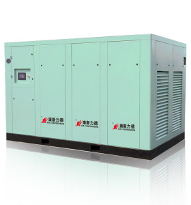 350 HP Oil Free Food Chemical Cement Instrument Dry Type Screw Compressor