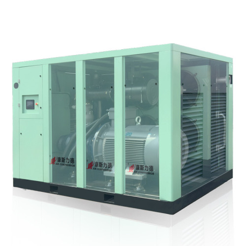 Industrial Power Frequency Oil Less Fixed Speed Direct Driven Screw Air Compressor