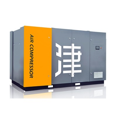 Fix Speed Energy-Saving 75KW Screw Air Compressor Two-Stage Compression for Industrial