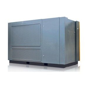 Jinjing 220kw Energy-Saving 40% Pressure Stable Two-Stage Air End VSD Screw Type Air Compressor