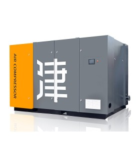 Two Stage Compression PM 160KW Heavy Duty 13bar Screw Air Compressor for Sale