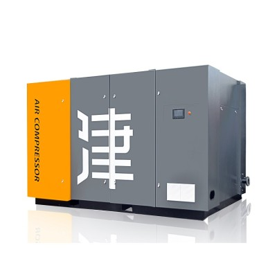 90KW Screw Air Compressor 8bar Two Stage Compression High Efficient Electrical Compressor