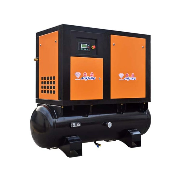 Combined 11kw All-in-One Screw Air Compressor with Air Dryer and Tank 500L