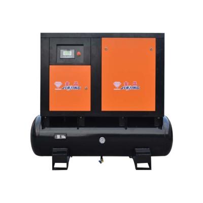 Combined 15HP Screw Compressor Inverter Cheap Price 11 Kw Air Compressor Tank