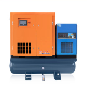 Combined 16bar 200 Psi Compact 15KW Screw Compressor with Dryer Laser Cutting