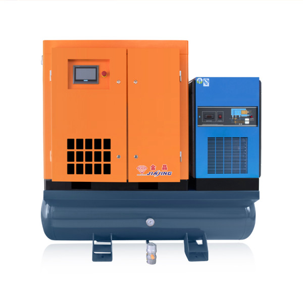 Combined 16 Bar 11kw Screw Compressor with Air Dryer for Fiber Laser Machine