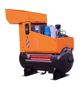 7.5KW Oil Cooling VSD Inverter Pm Rotary Screw Air Compressors