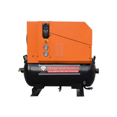 22KW 7-13bar Oil-Cooled Low Noise Screw Pm VSD Air Compressor