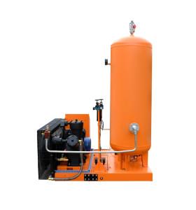 Integrated 30 Bar Medium Pressure Piston Air Compressor for Laser Cutting