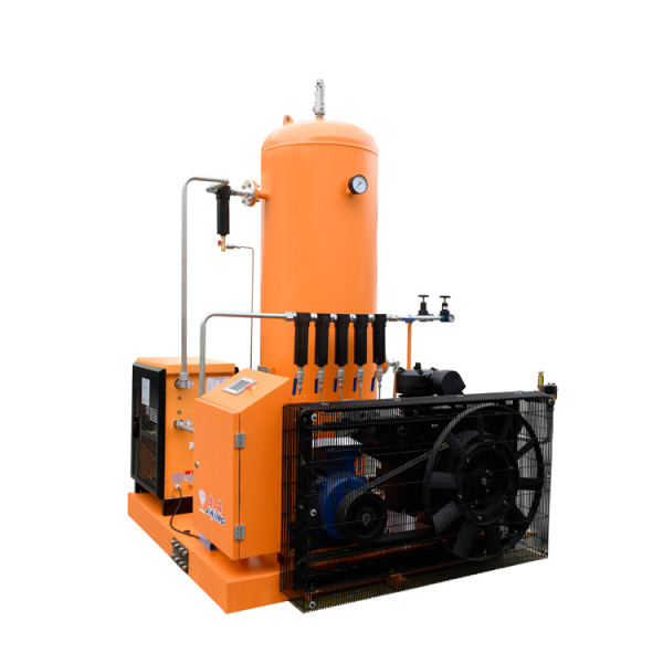 Combined 30bar Piston Air Compressor with Tank and Dryer for Laser