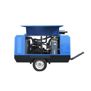 Jinjing 410KW Factory Price Portable Diesel Screw Air Compressor for Sale