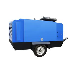 Diesel Engine Driven Portable 32KW Screw Air Compressor