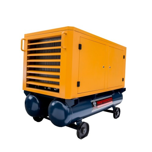Electric Driven Portable Screw Air Compressor for Drilling Rig