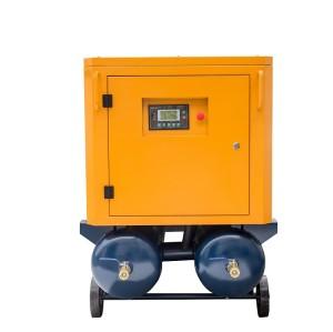 Electric Portable Screw Air Compressor Driven Normal Pressure Compressor