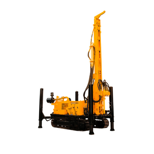 Crawler Hydraulic Down The Hole Bore Drilling Machine DTH Drilling Rig