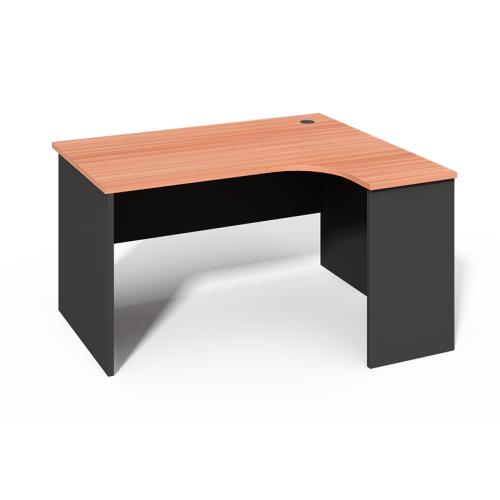 WS -L1612A Simple L Shaped Office Desk