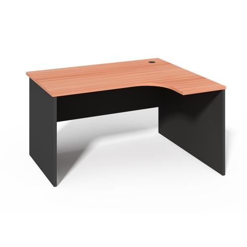 WS -L1612B L Shape Single Office Desk
